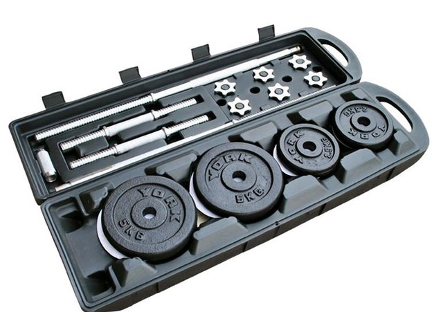 weight training kit for muscle building
