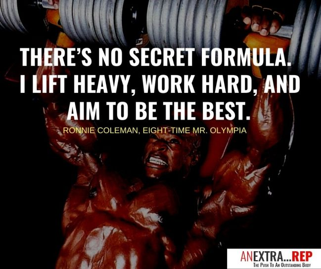 ronnie coleman quotes
